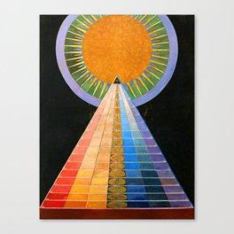 Hilma Af Klint Altarpiece No 1 Restored Canvas Print