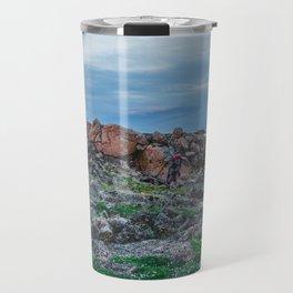 At the Top of the World: 2 Travel Mug