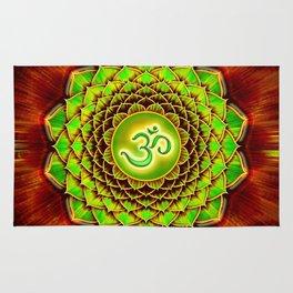 Om Lotus - Green Spirit Rug