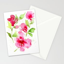Floral 11 Stationery Cards