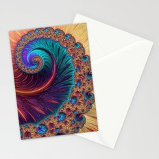 Bejewelled Spiral Stationery Cards