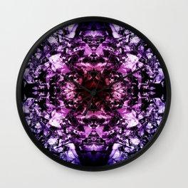 kaleidoscope4 Wall Clock