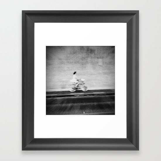 Stranger, who are you? Framed Art Print