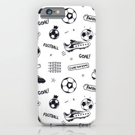 Football#1 iPhone Case