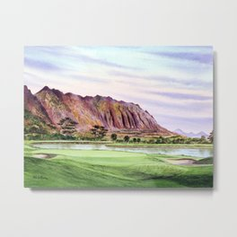 Koolau Golf Course Hawaii 16th Hole Metal Print