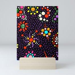 Planet Mandala Mini Art Print