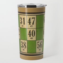 FREnch vintage loto game Travel Mug