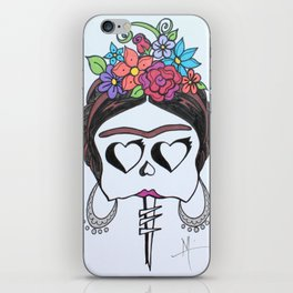 Frida in Sharpie iPhone Skin