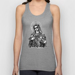 Mother Mary Unisex Tank Top
