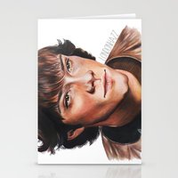 sam winchester Stationery Cards featuring Jared Padalecki/Sam Winchester by Londonhazz