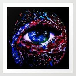 We The Peephole Art Print