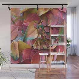 Forest Leaves in Holland Wall Mural
