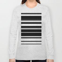 Black And White Stripes Long Sleeve T-shirt