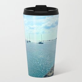 Mediterranean Sea Off of Menorca Travel Mug