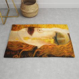 Freya's Golden Tears Viking Lore Rug