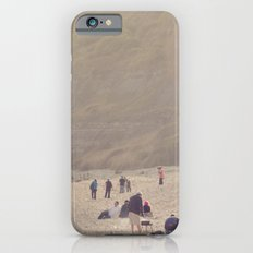 sandy sausages by the sea shore... iPhone 6s Slim Case