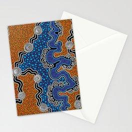 Authentic Aboriginal Art - Stationery Cards