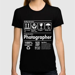 Product Description Tee Shirt - Photogra T-shirt
