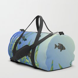 Designer Aquarium Fish Story Duffle Bag