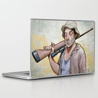 dale cooper Laptop & iPad Skins featuring Dale Horvath by poopbird