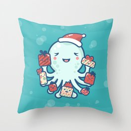 The Gift Giver Throw Pillow