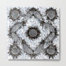 Sketch #2 Metal Print