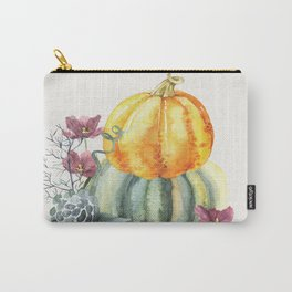 Pretty Pumpkins Carry-All Pouch