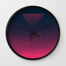 OMBRE / raspberry Wall Clock