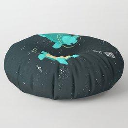 Space Turtles Floor Pillow