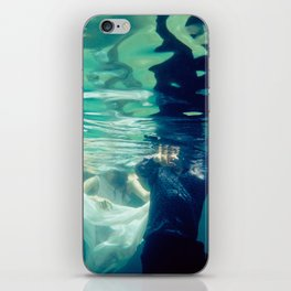 Chasing love iPhone Skin