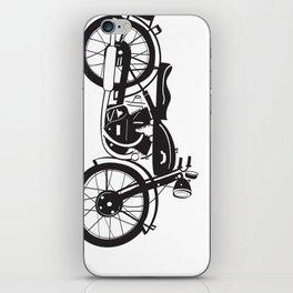 48 Vincent Black Shadow iPhone Skin