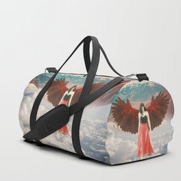 Lady of the Clouds Duffle Bag