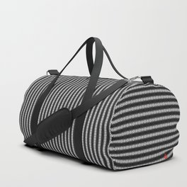Abstract Tribal Zebra Pattern Duffle Bag