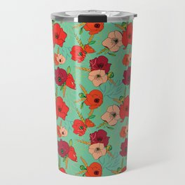 Harvest Poppies Travel Mug