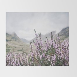 Heather in Glencoe Throw Blanket