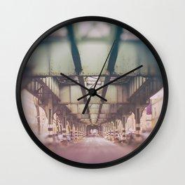 Pastel El Wall Clock