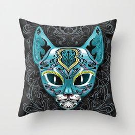Felis Catus Throw Pillow