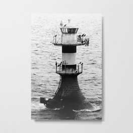 Lighthouse Trelleborg Sweden Metal Print