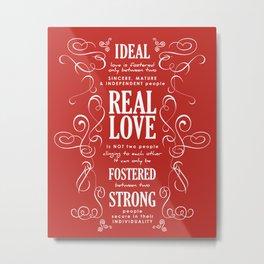Ideal Love Metal Print