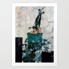 VISCERALE BOX 2 Art Print