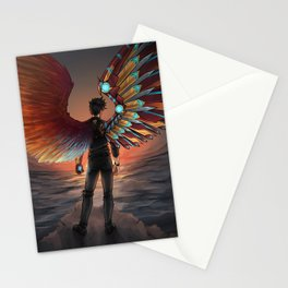 MISMATCHED WINGS Stationery Cards