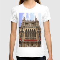 vienna T-shirts featuring Building in Vienna by Kim Ramage