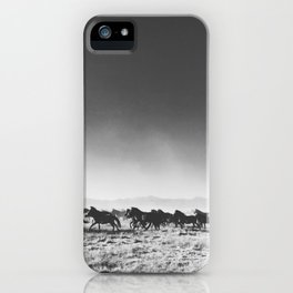 Wild Mustangs iPhone Case