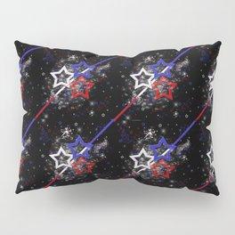 Stars and Stripes Pattern Pillow Sham