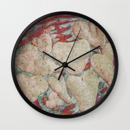 Love Rocks Wall Clock