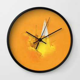 space cuts Wall Clock