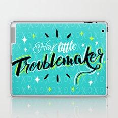 Hey little Troublemaker Laptop & iPad Skin