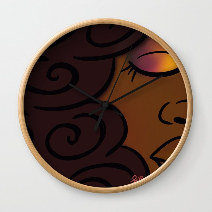A Moment for Myself Wall Clock
