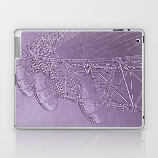 Embossed London Eye Laptop & iPad Skin