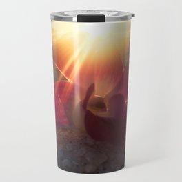 Sunset Wedding Flower Travel Mug